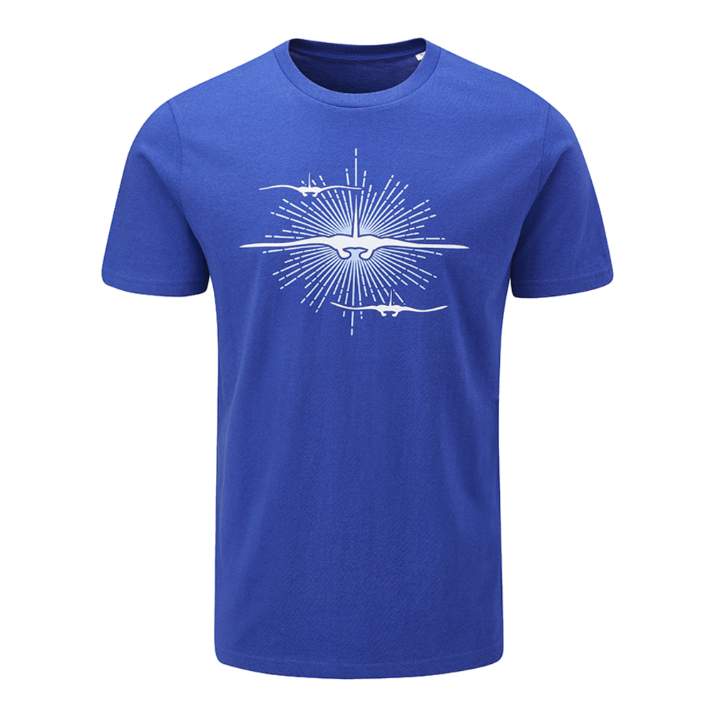 만타어택 티셔츠 Manta Attack T-Shirt [Royal Blue]