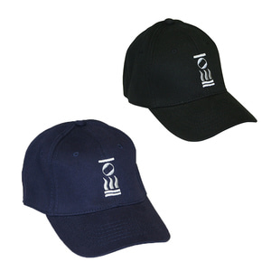 로고 야구모자 BASEBALL HAT BLACK/NAVY